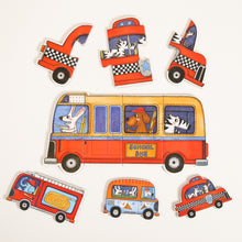 Load image into Gallery viewer, Mideer My First Puzzle Set of 6 Vehicle Puzzles