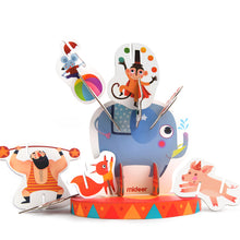 Load image into Gallery viewer, Mideer 3-D Creative Stacking Puzzle Crazy Circus