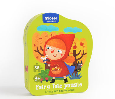 Mideer Fairy Tale 36-piece Puzzle: Little Red Riding Hood