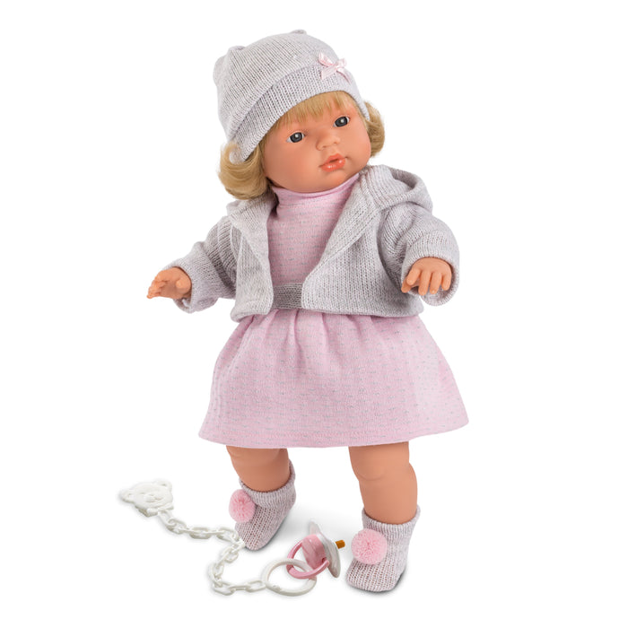 Llorens Sophia Crying Doll 15 inches