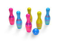 Load image into Gallery viewer, BuitenSpeel Toys Skittles Jr. Bowling Set