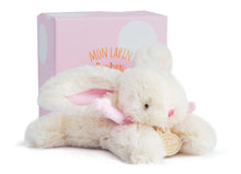 Load image into Gallery viewer, Doudou et Compagnie Pink Plush Bunny