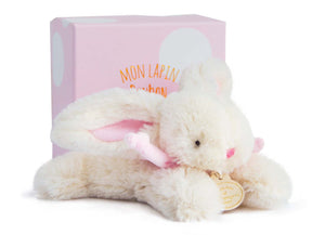 Doudou et Compagnie Rabbit Pink - 6.3inches