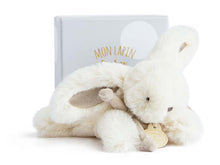 Load image into Gallery viewer, Doudou et Compagnie Tan Plush Bunny