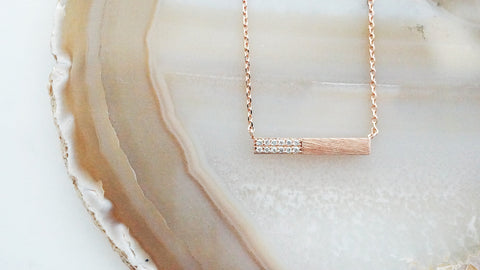 Eva Bar Necklace