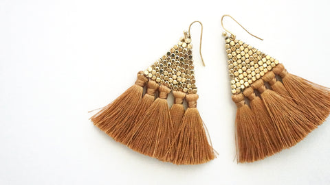 Estella Fringe Earrings