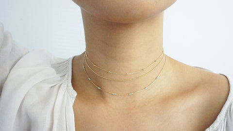 Simple & Sweet Choker Set
