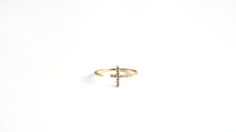 Cross Wrapped Ring