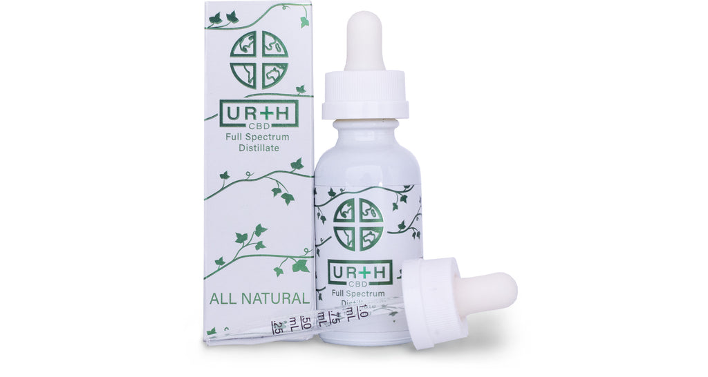 All Natural 300 mg, 500 mg, & 1000 mg CBD Tincture | URTH CBD