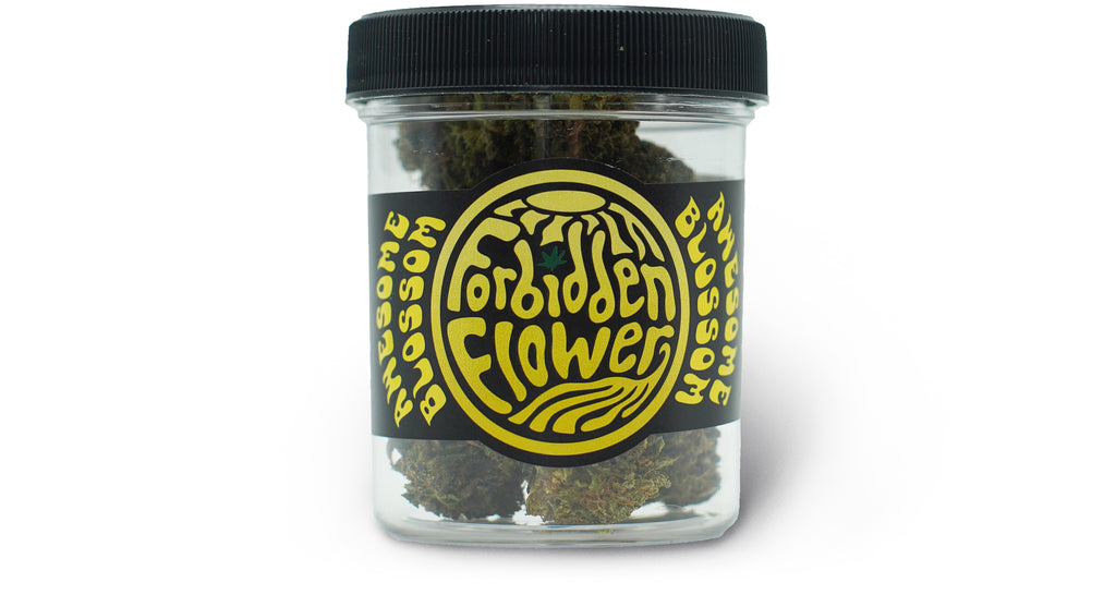 Awesome Blossom 3.5 gram Jars CBD Flower | Forbidden Flower | URTH CBD