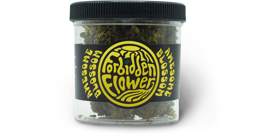 Awesome Blossom 7 gram Jars CBD Flower | Forbidden Flower | URTH CBD