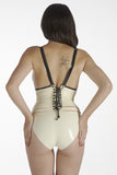 Salvator corsetted bodysuit (without cross)