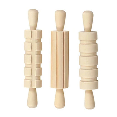 3 rolling pins