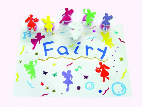 Picture made with fairy stampers