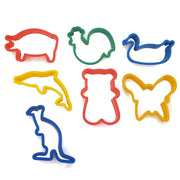 7 Animal-Shaped Dough Cutters