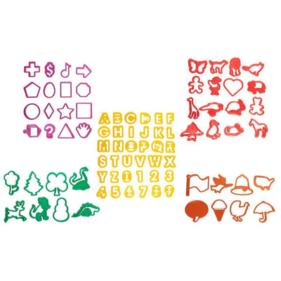 Mega Pack of 84 Cookie Cutters
