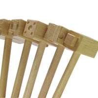 5 wooden hammers for clay