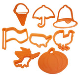 Cookie Cutters for Halloween and other American Holidays