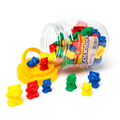 plastic bear counters