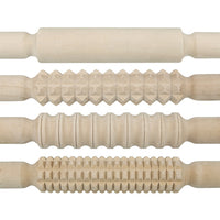 4 patterned rolling pins