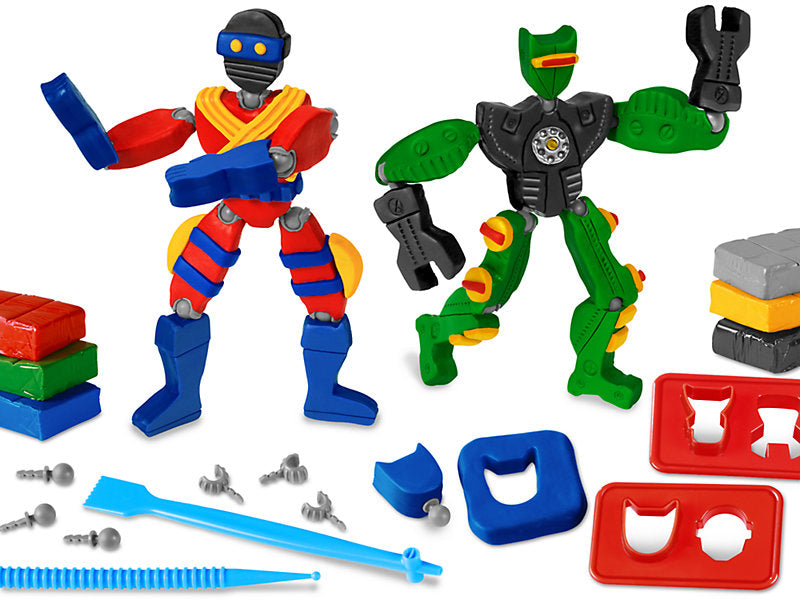 Clay Action Figures Kit
