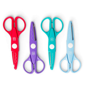 4 pairs of scissors