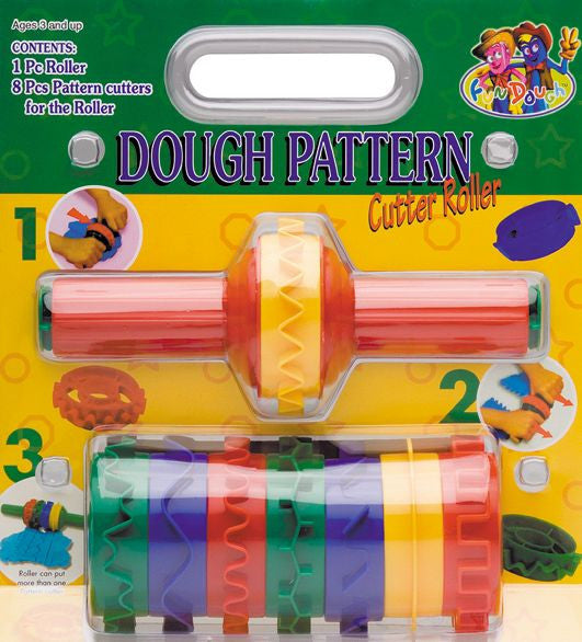 Dough Pattern Cutter Roller Set