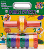 Dough Pattern Cutter Roller Set - Accessories for dough and clay