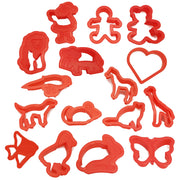 16 different cookie cutters
