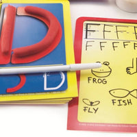 """D"" playdough mat"