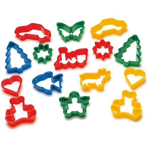 Set of 12 Playdough Cutters