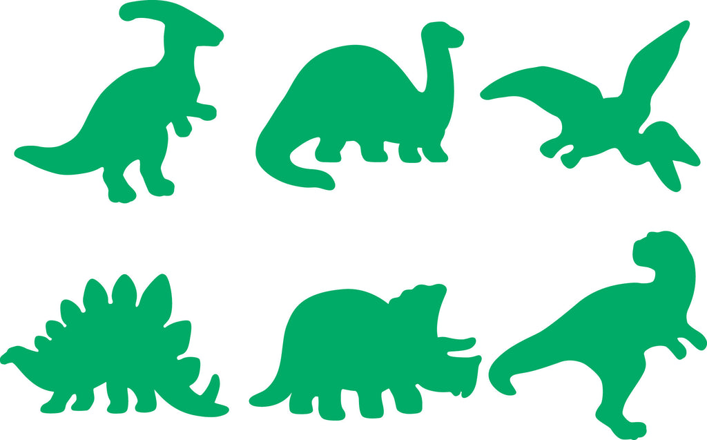 Dinosaur Stampers for Playdough or Paint