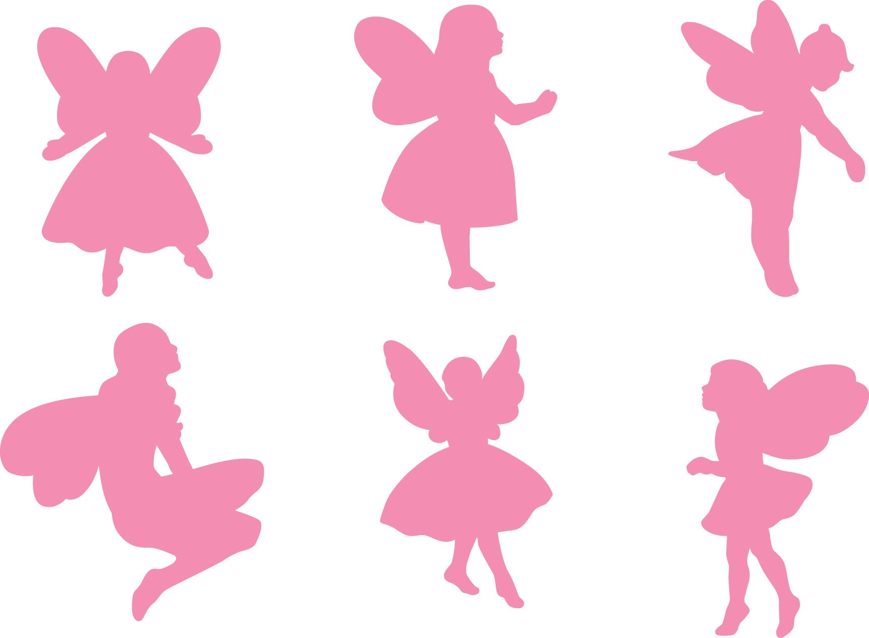 6 fairy shapes