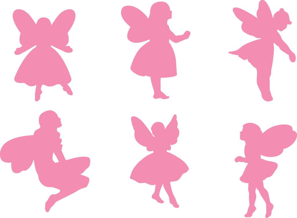 Fairy Stampers for Playdough or Paint