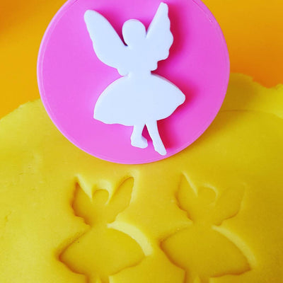 Fairy stamper with playdough