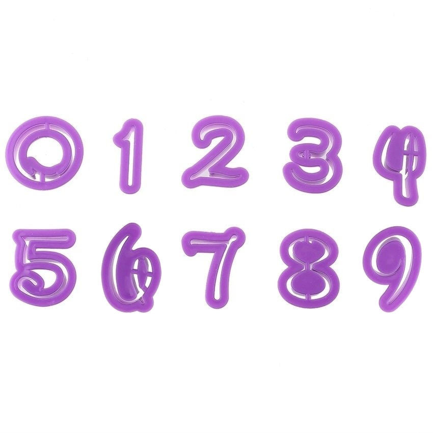 Fun Font Number Cutters