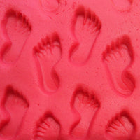 footprints in playdough