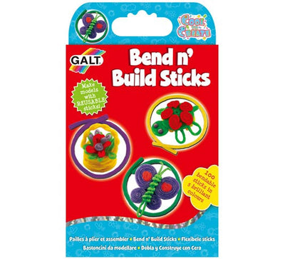 Galt Bend 'n' Build Sticks - 100 pack - Dough and clay