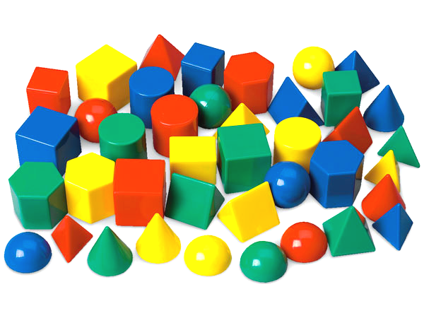 Mini Geometric Solids, Set of 40