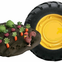 Play with mud-like dough in this unique John Deere set.