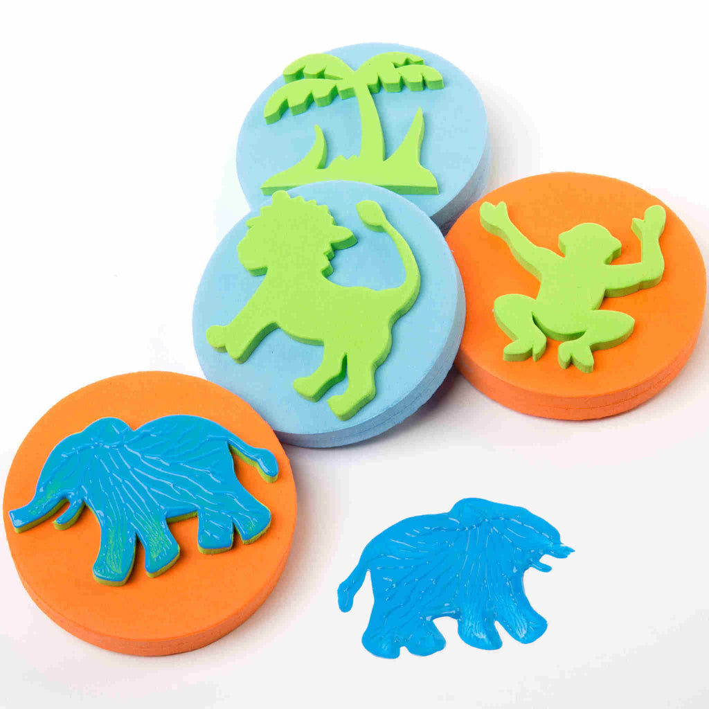 Jungle Palm Printers, Set of 4