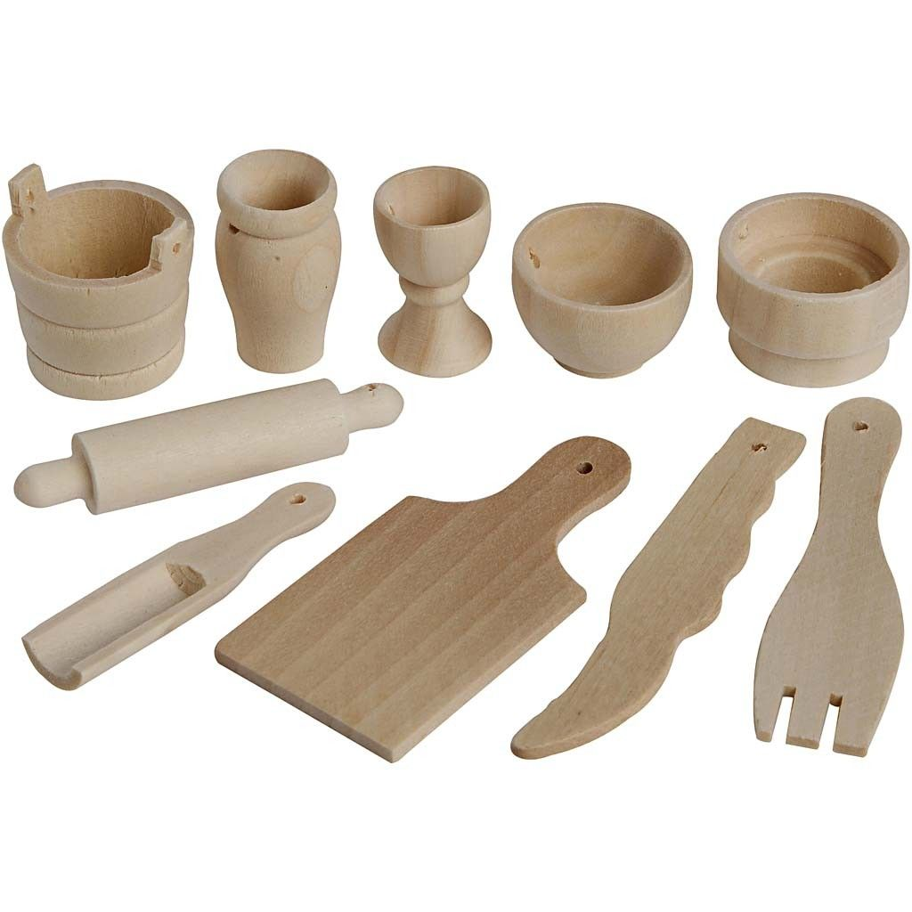 Mini Kitchen Tool Decorations