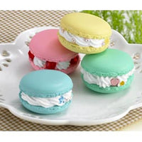 macarons made with clay