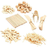 Wooden Playdough Accessory Kit