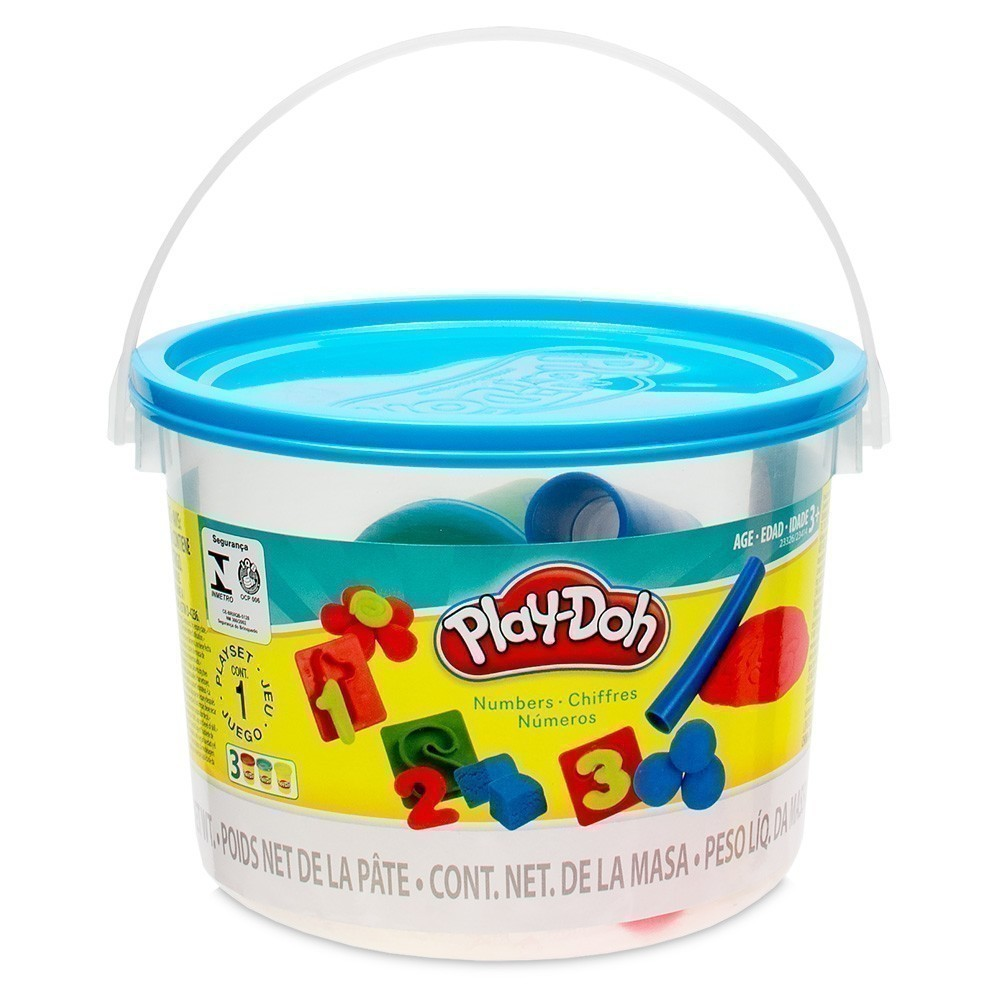 Play-Doh Numbers Bucket