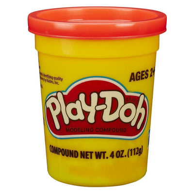 orange Play-Doh