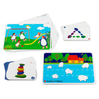 Rainbow Pebble Card Set