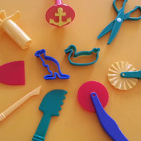 10 playdough tools