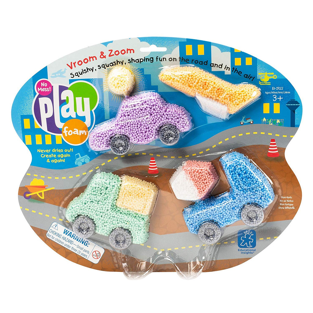 Playfoam Car Themed Set