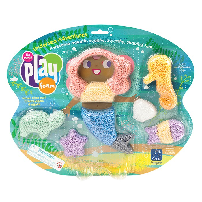 Playfoam Mermaid Themed Set